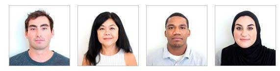 Acceptable Visa Photo Examples